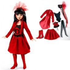 Ashton Drake- Delilah Noir Red Velvet