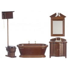 Aztec Imports- Old Fashioned Bathroom