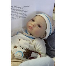 Ashton Drake- Bearly Asleep Doll
