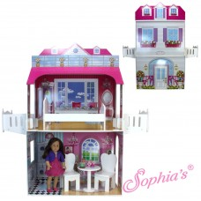 Sophia's- Dollhouse for 18 inch Dolls - Display