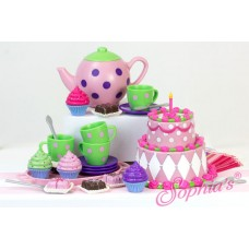 Sophia's- NEW! - Tea Party Set in Decorative Window Box