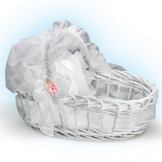 Ashton Drake- Sweet Slumber Wicker Basket