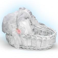 Ashton Drake- Sweet Slumber Wicker Basket